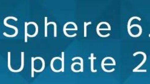 vSphere 6.7 update 2