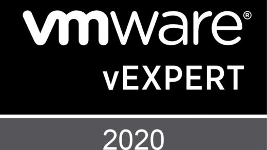 vExpert 2020